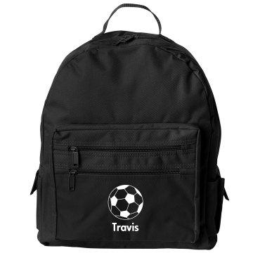 Travis's Soccer Pack Liberty Bags Backpack Bag
