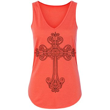 Trendy Cross Design