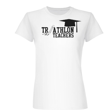 Triathlon Teachers Junior Fit Basic Bella Favorite Tee