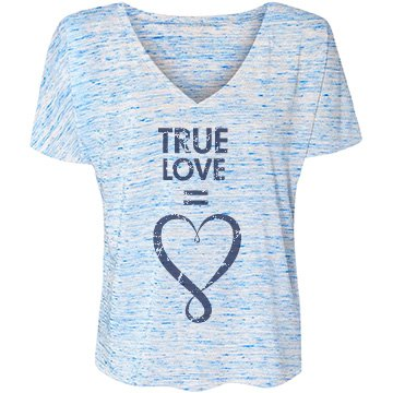 True Love Bella Flowy Lightweight V-