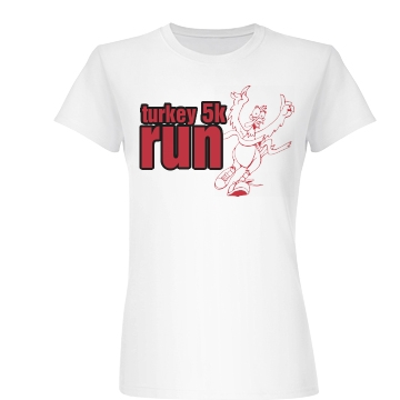 Turkey 5k Junior Fit Basic Bella Favorite Tee