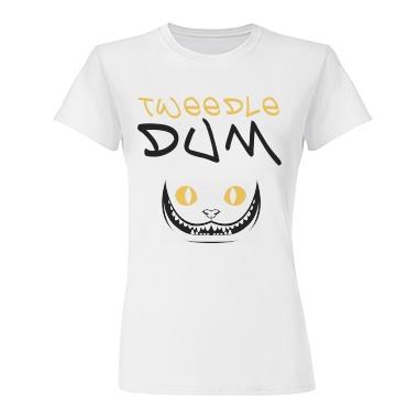 Tweedle Dum Cat Junior Fit Basic