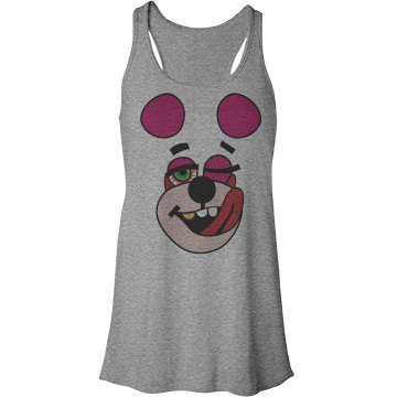 Twerk That Teddy Bella Flowy Lightweight Racerback Tank Top