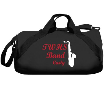 TWHS Band Bad Liberty Bags Barrel Duffel Bag