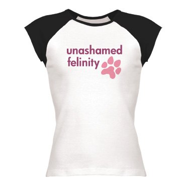 Unashamed Felinity Junior Fit Bella 1x1 Rib Cap Sleeve Raglan Tee
