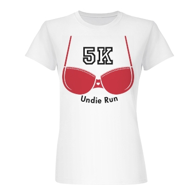 Underwear Run Junior Fit Basic Bella Favorite Tee