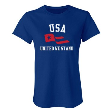 United We Stand Junior Fit Bella Favorite Tee