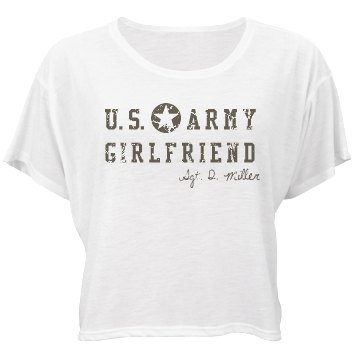 U.S. Army Girlfriend Bella Flowy Boxy Lightweight
