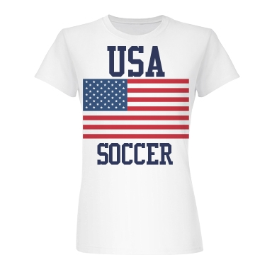USA Soccer Games Junior Fit Basic Bella Favorite Tee
