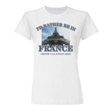 Vacation Photo T-Shirt