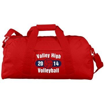 Valley Volleyball Bag Liberty Bags Large Squ