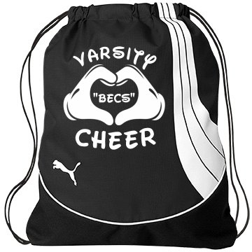 Varsity Cheerleader Becky PUMA Teamsport Drawstring Gym Bag