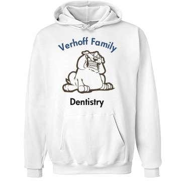 Verhoff Family Dentistry Unisex Hanes Ultimate Cotton Heavyweight Hoodie