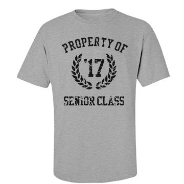 Vintage Senior Class Unisex Basic Port & Company Essential Tee