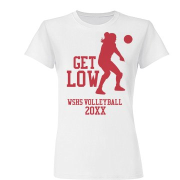 Volleyball Get Low Tee