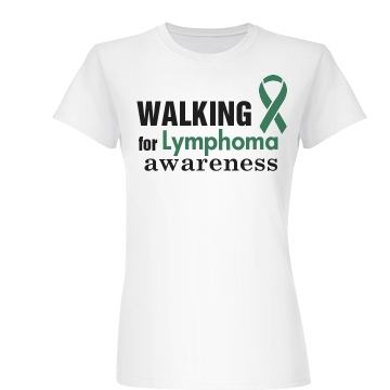 Walking For Awareness Junior Fit Basic Bella Favorite Tee