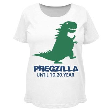 Walking Pregzilla