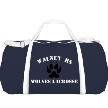 Walnut HS Lacrosse Augusta Sport Roll Bag