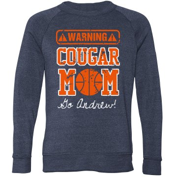 Warning Basketball Mom