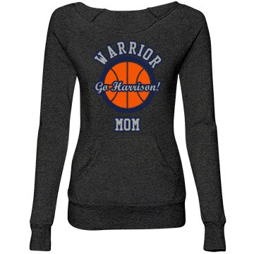 Warrior Basketball Mom