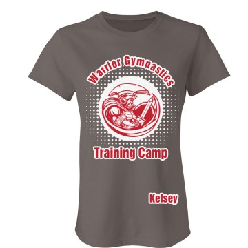 Warrior Training Camp Junior Fit Bella Favorite Tee
