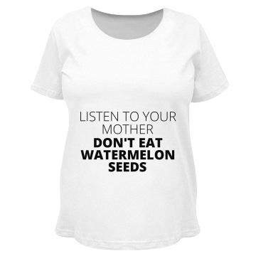 Watermelon Seed Warning