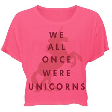 We All Once Were Unicorns