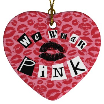 Wear Pink on the Tree