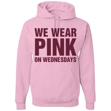 Wear Pink on W-Day