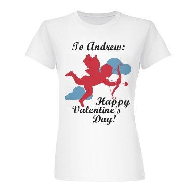 Wear Your Valentine Junior Fit Basic Bella Favorite Tee