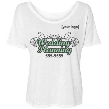 Wedding Planning Bella Flowy Lightweight Simple Tee