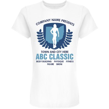 Weightlifting Classic Junior Fit American Apparel Fine Jersey Tee