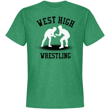 West High Wrestling Unisex Anvil Lightwei