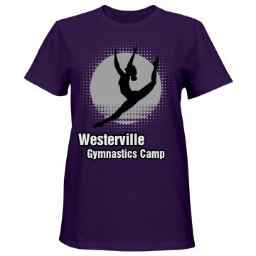 Westerville Gymnastics Misses Relaxed Fit Port & Company Es