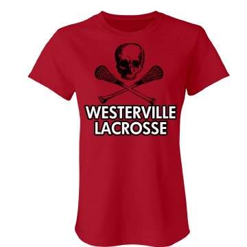 Westerville Lacrosse Junior Fit Bella Favorite Tee