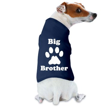 Wet Nosed Big Brother Doggie Skins Dog Tank Top