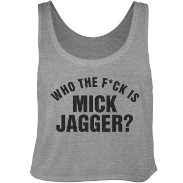 Who's Jagger Anyway