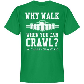 Why Walk St. Patrick's Pub Crawl