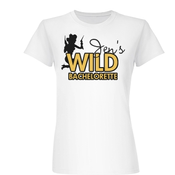 Wild Bachelorette Junior Fit Basic Bella Favorite Tee