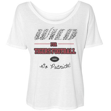 Wild For Football Bella Flowy Lightweight Simple Tee