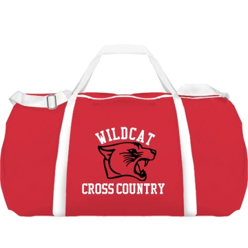 Wildcat Cross Country Augusta Sport Roll Bag