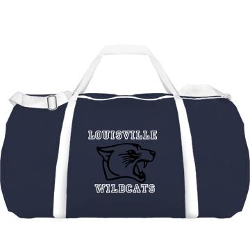 Wildcat Gym Tote Augusta Sport Roll Bag