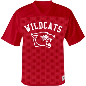 Wildcat Jersey w/ Back Unisex Augusta Replica Football J