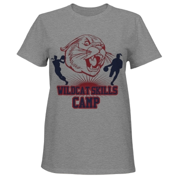 Wildcat Skills Camp Misses Relaxed Fit Port &a