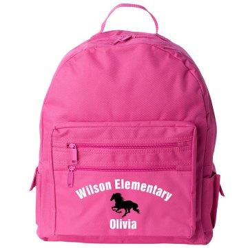 Wilson Elementary Liberty Bags Backpack Bag