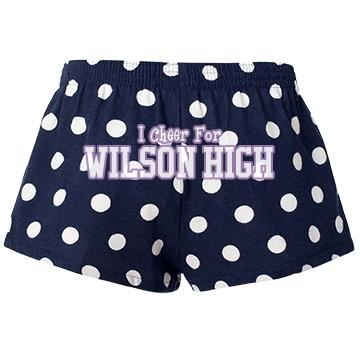 Wilson High Cheerleader