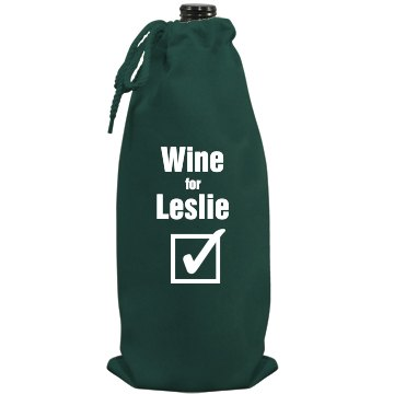 Wine For Leslie
