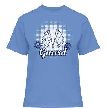 Winter Guard Misses Relaxed Fit Gildan Heavy Cotton Tee