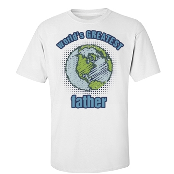 World's Greatest Father Unisex Basic Port & Company Essential Tee