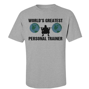 World's Greatest Trainer Unisex Basic Port & Company Essential Tee